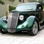 Coupé 3 Fenètres Ford 1935