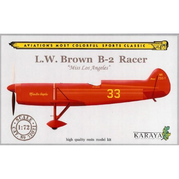 LW - Brown-B2-racer-miss Los Angeles / resin-décals