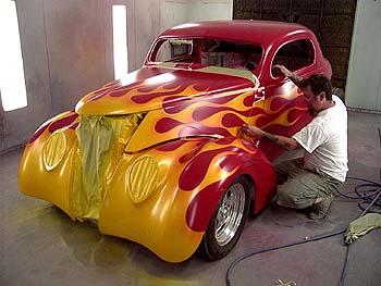 """Cost To Paint A Car >> mode de Réalisation """"Flaming en image"""""""