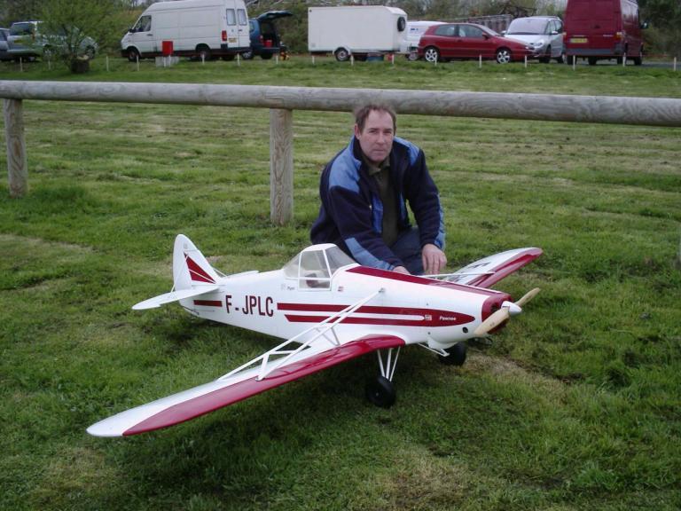"Piper Pawnee "" motorisation Titan 62cm3"""