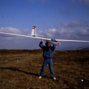 Ménez Hom- Pente Nord  Départ de l' ASW17 de JPC