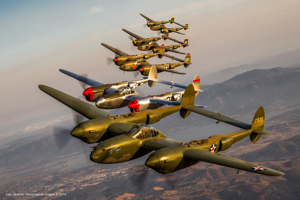 P 38 lighting