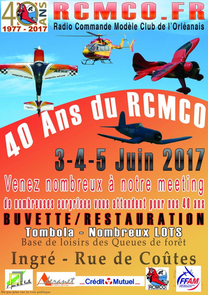 RCMCO - ORLEANS ..... 40Ans  -