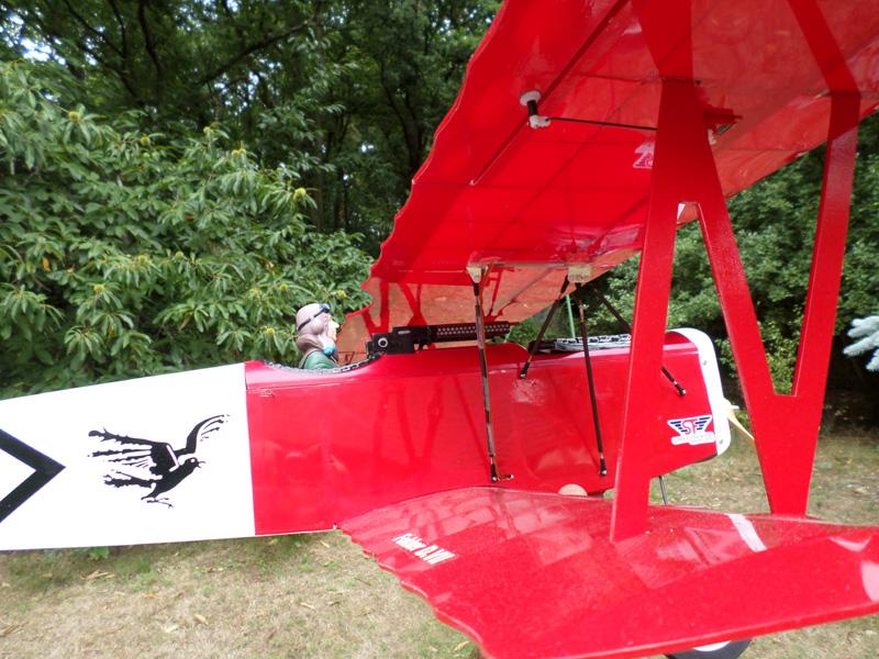 Fokker D7-  Envergure : 1,20m