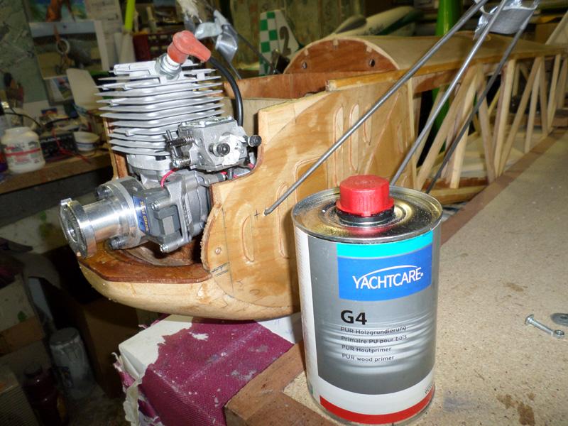 Titan 62cm3 / Vernis D'appret G4