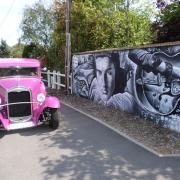 Frèsque murale  à Breuillet - 91 essonne
