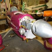 Vue d'ensemble montage moteur Titan 62 cm3