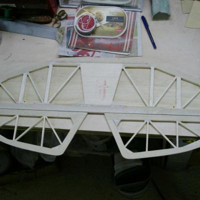 Structure Treillis  du stabilisateur
