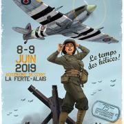 Affiche Meeting aérien la Ferté  2019