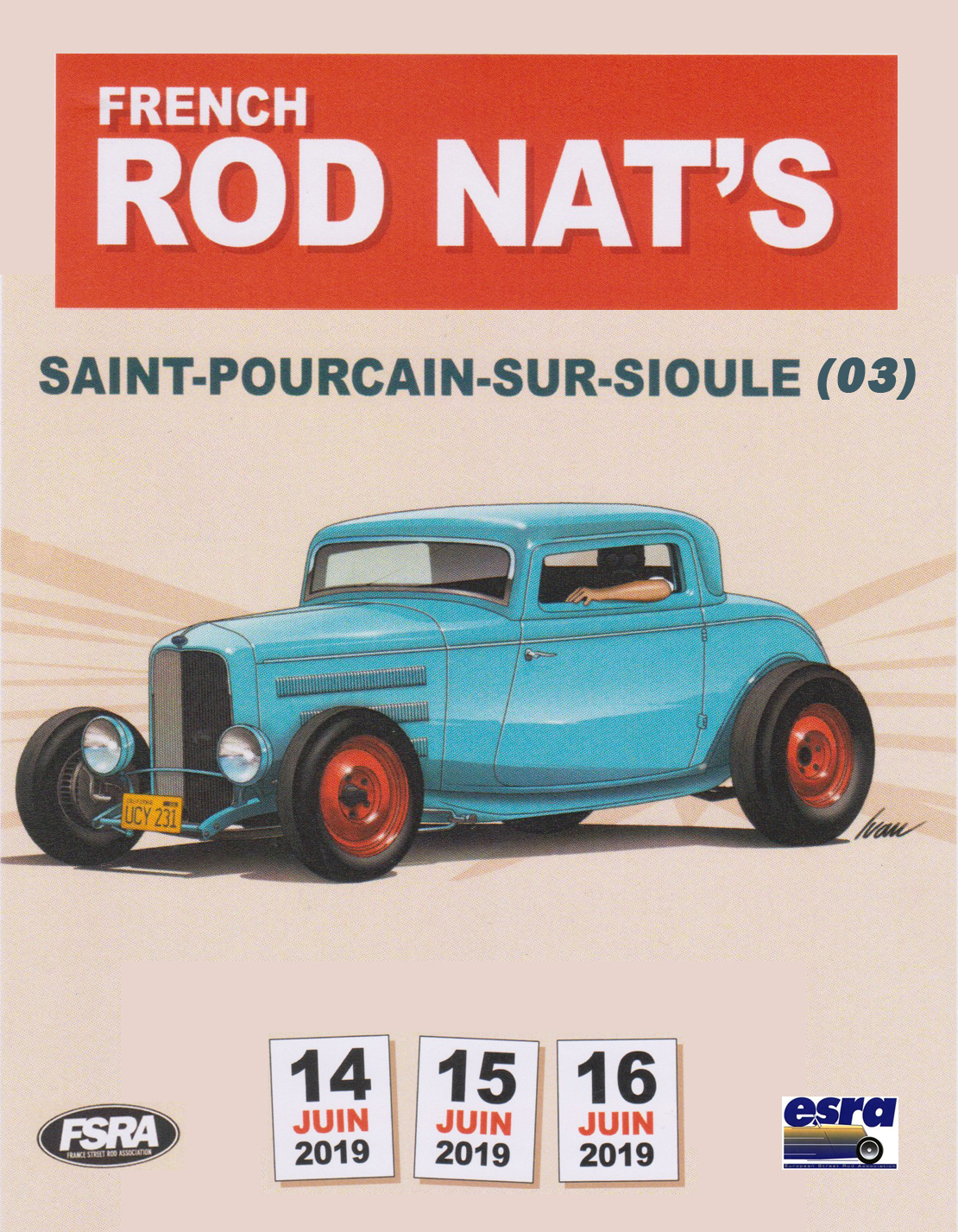 Rods Nats 2019 - flyer