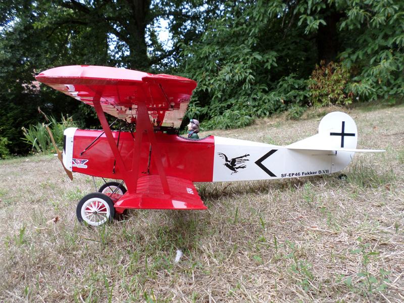 Fokker D7 - 1,20m